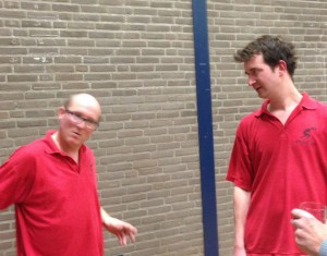 Henk van Benthem en Alexander Veldkamp