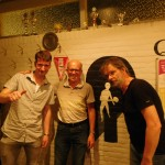 De winnaars: v.l.n.r. Alex, Jan en Frans